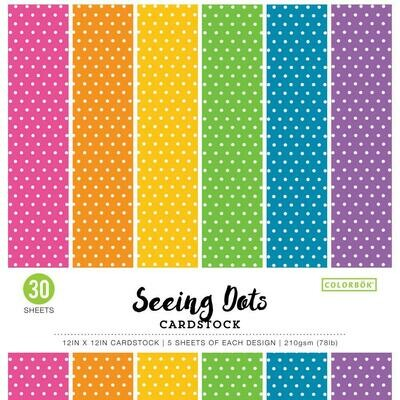 Seeing Dots Paper Pad