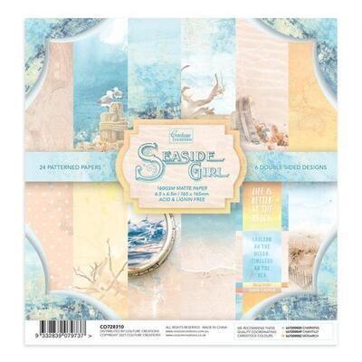 Seaside Girl Six Inch Paper Pad