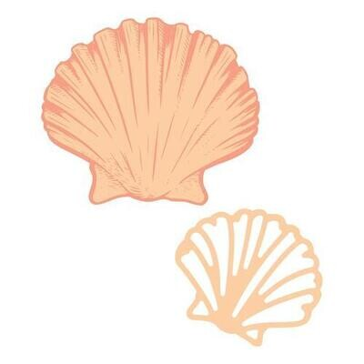 Seashell Stamp and Die Set