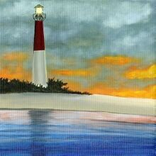 Sailing Past the Lighthouse