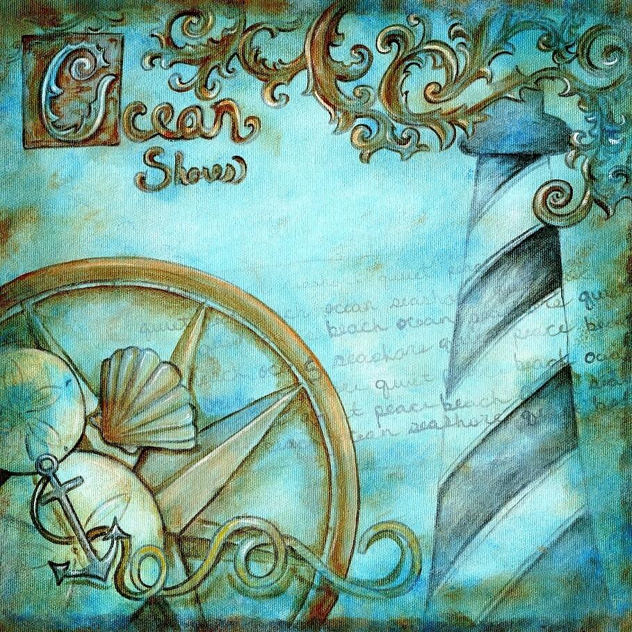 Ocean Shores Print