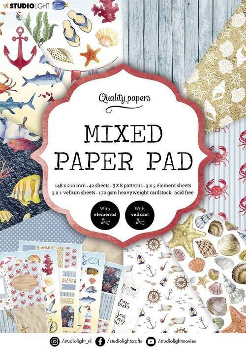Mixed Nautical Paper Pad