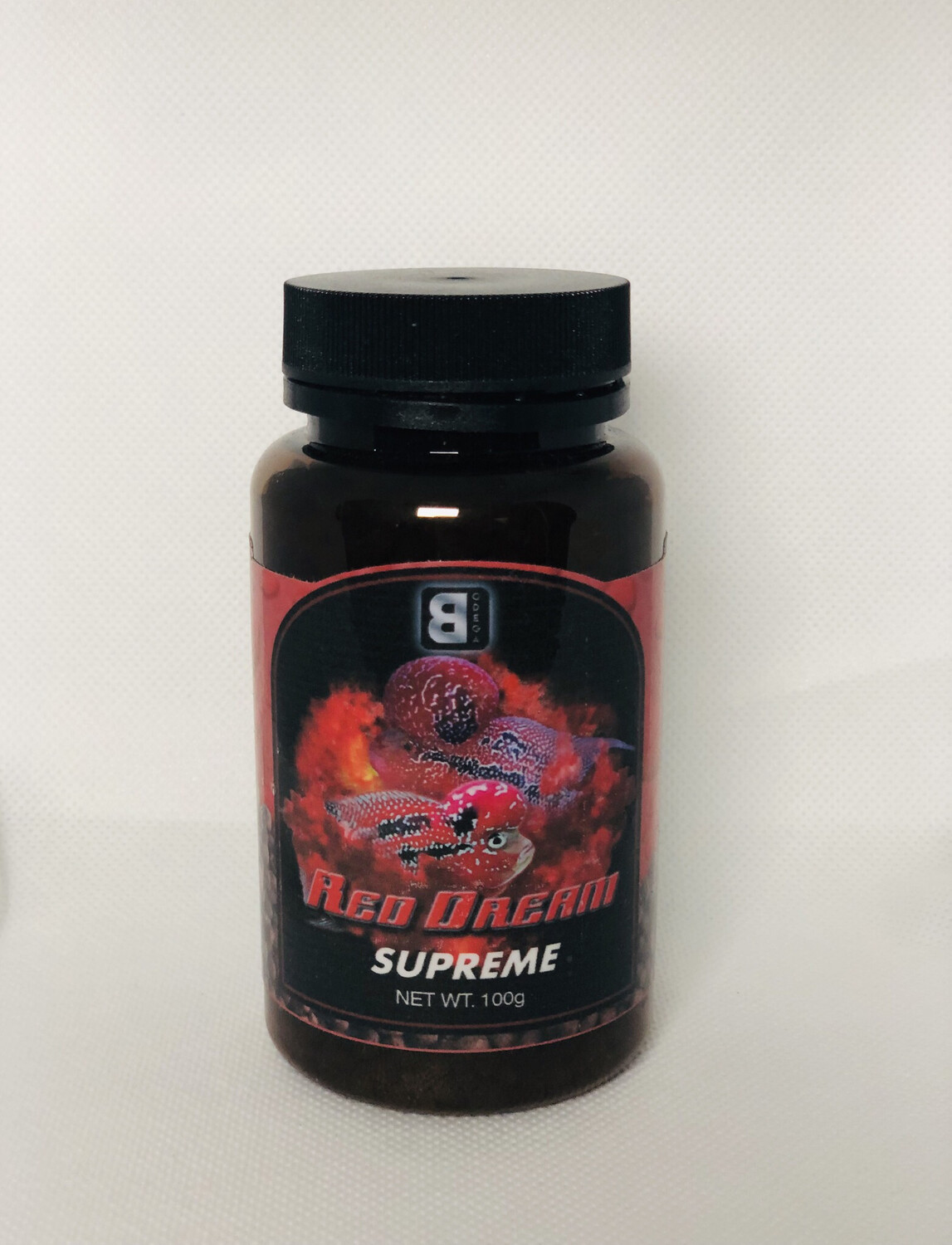 SUPER FOOD FOR FLOWRHORN FISH FOR ALL TYPES OF RED COLOR 100GRAMS