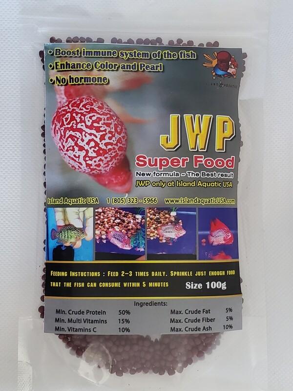 JWP Super Food large pellets 100G