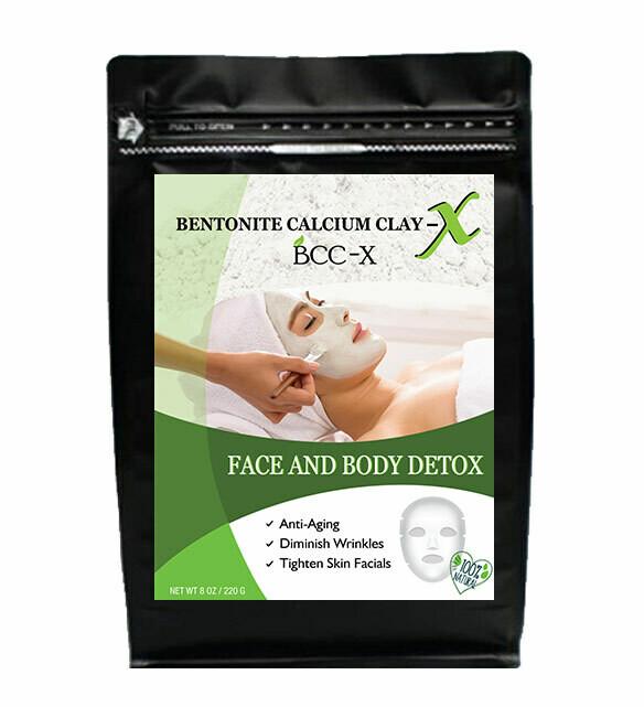 Bentonite BCC-X Face And Body Detox 220G