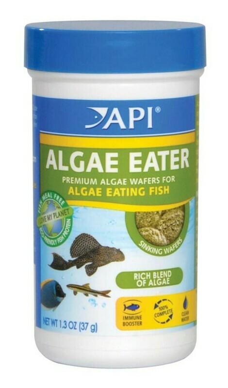 API Algae Eater Premium Sinking Wafer Fish Food 1ea/1.3 oz