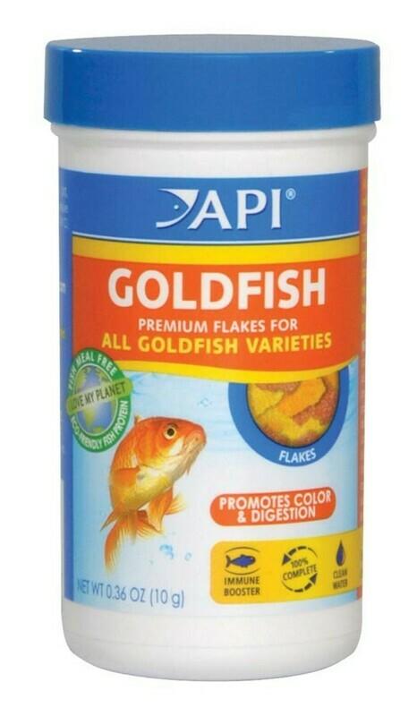 API Goldfish Flakes Fish Food 1ea/0.36 oz