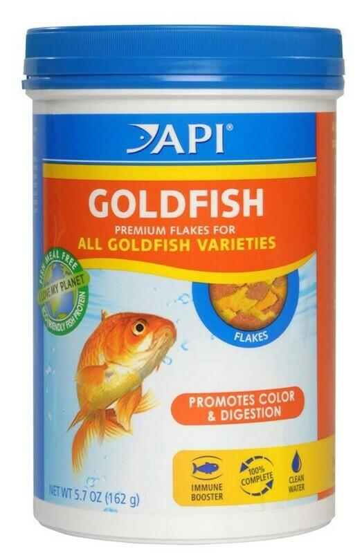 API Goldfish Flakes Fish Food 1ea/5.7 oz