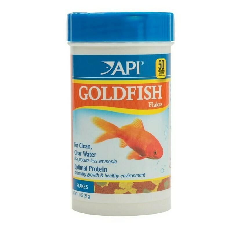 API Goldfish Flakes Fish Food 1ea/1.1 oz