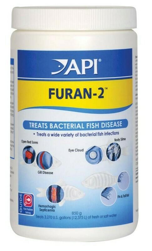 API Furan-2 Fresh and Saltwater Powder Medication 1ea/850 g