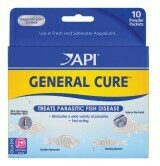 API General Cure Fresh and Saltwater Powder Medication 1ea/10 pk