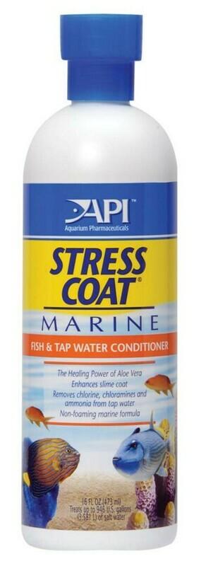 API Stress Coat Marine Aquarium Remedy 1ea/16 fl oz