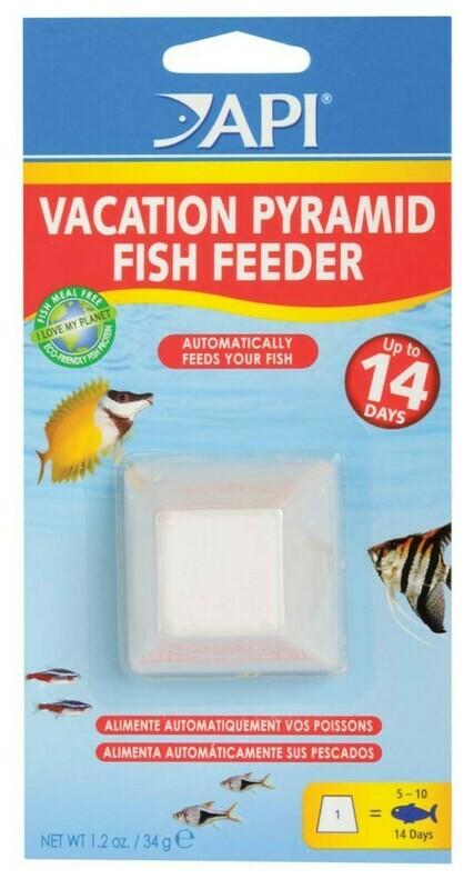API Pyramid Fish Feeder 1ea/7 Days, 1.05 oz