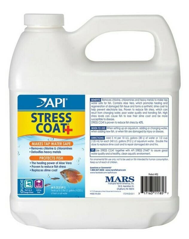 API Stress Coat Remedy No Pump 1ea/64 fl oz