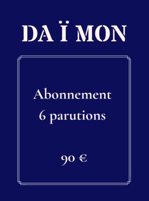 Abonnement 6 parutions