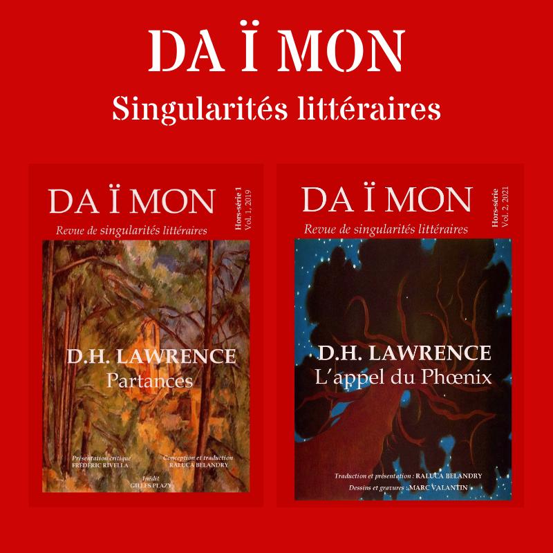 Daïmon hors-série D.H. Lawrence - Les deux volumes