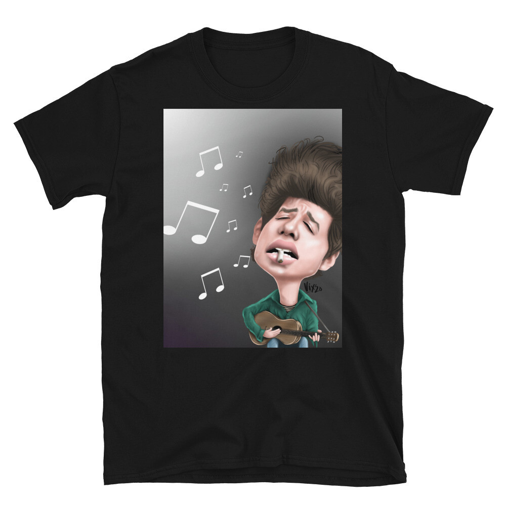 Bob Dylan Caricature T-Shirt