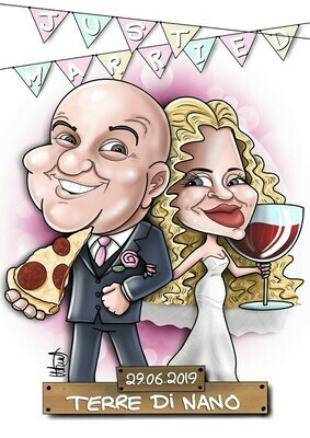 Caricature - 2 People
