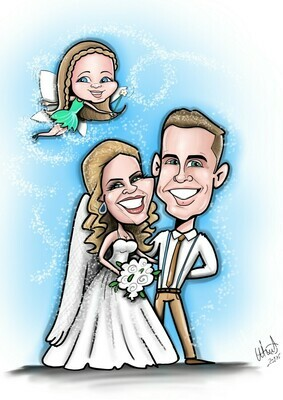 Caricature - 3 People