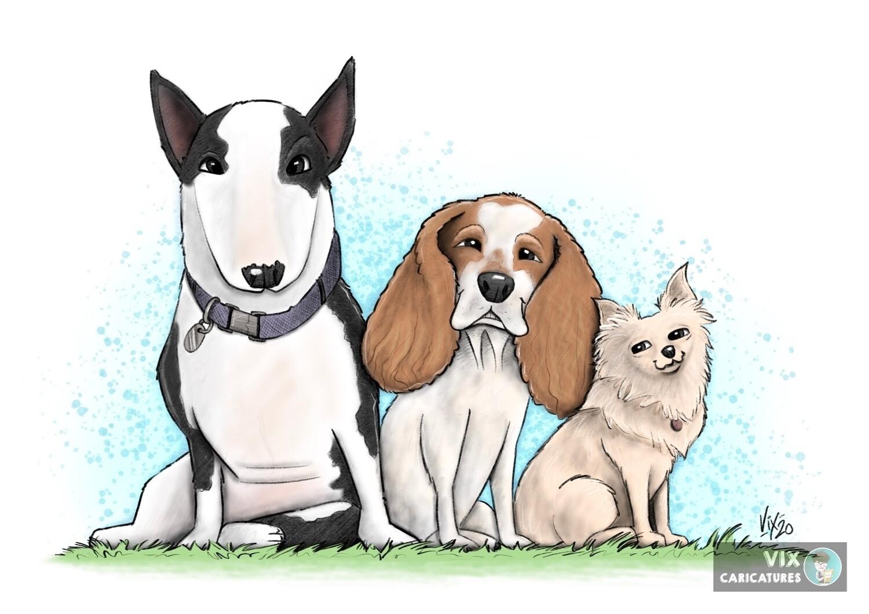 Pet Caricature