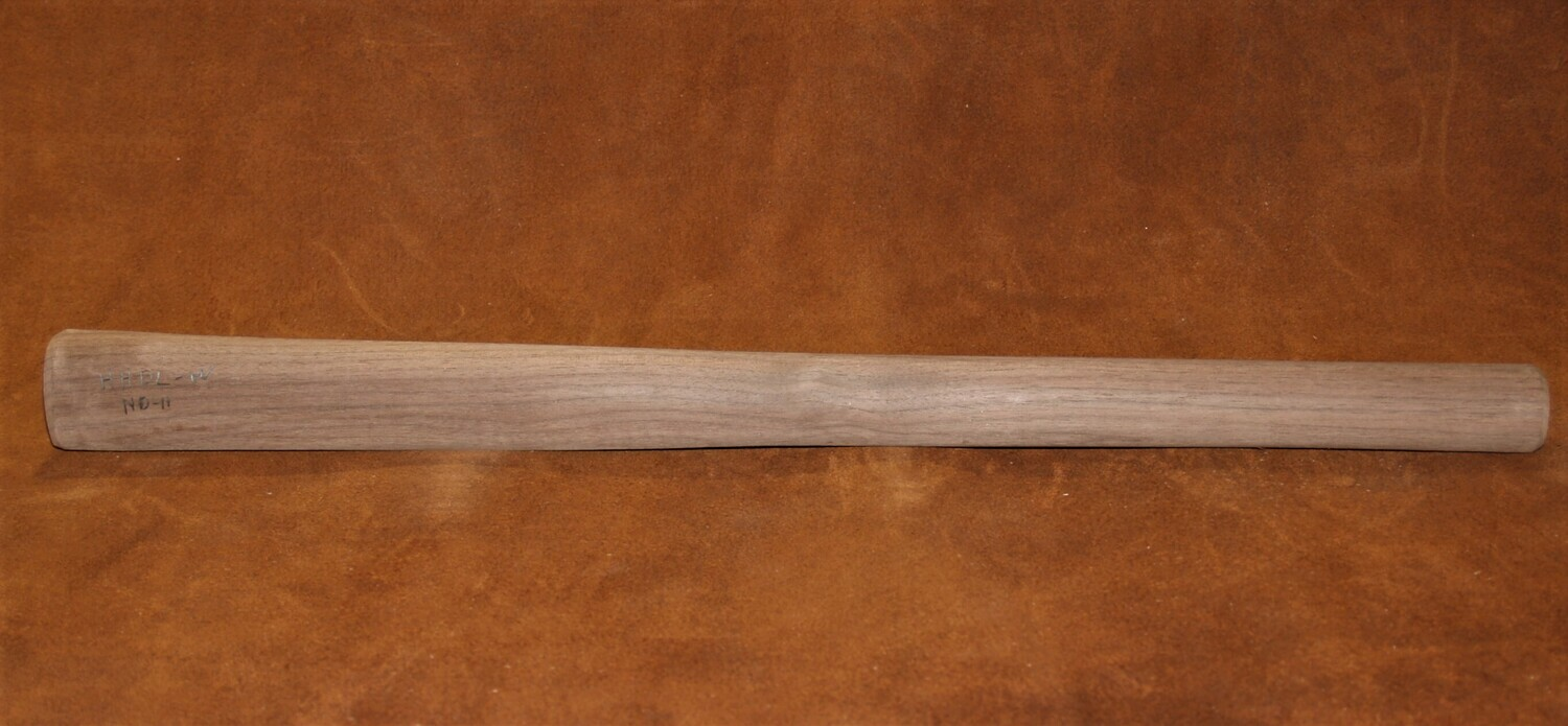 TOMAHAWK HANDLE  Black Walnut  19