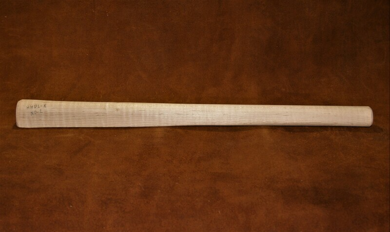 TOMAHAWK HANDLE,   Curly Sugar Maple  19