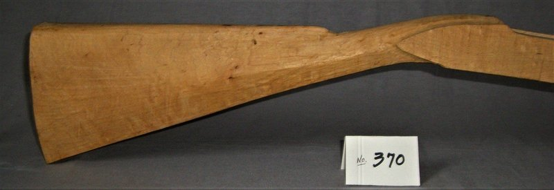 Golden Age Lancaster Pre-carved Stock;  Curly Sugar Maple