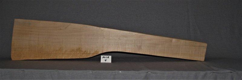 Curly Sugar Maple Modern Custom Rifle Blank