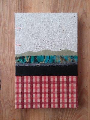 Hardcover Journal - White Landscape