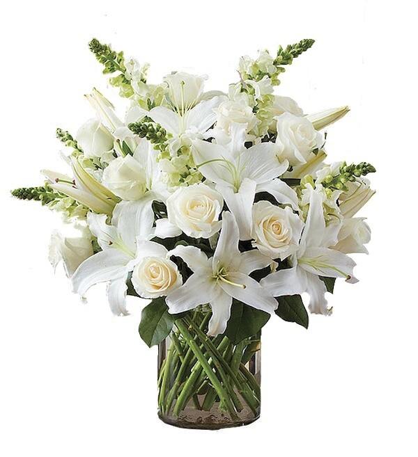 White dove flowers (M-XXL)