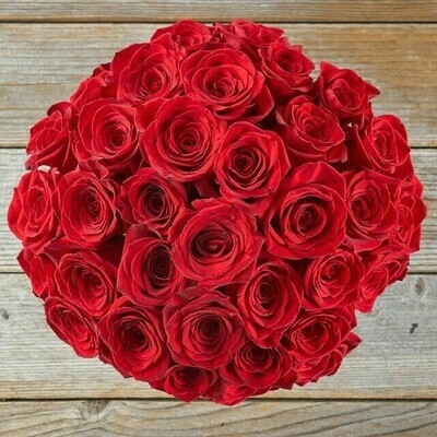 Red roses Bouquet 100