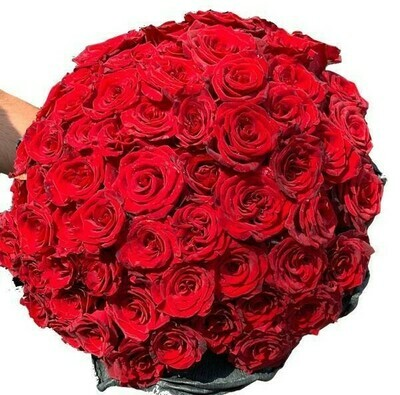 Red roses Bouquet 25-150