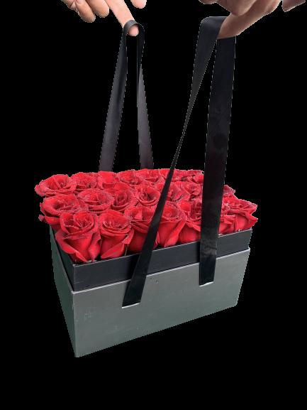 Red roses black Box 1
