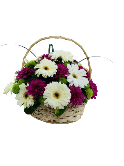 Basket of flowers 1