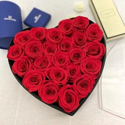 Rose Heart 70 roses Boxed Lebanon