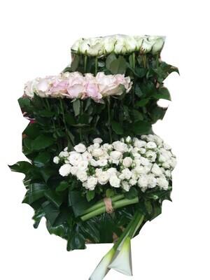 150 roses White passion Lebanon