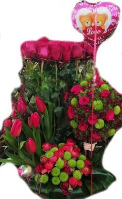 200 Roses super love  Lebanon