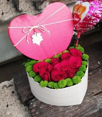 30 Rose heart  Lebanon