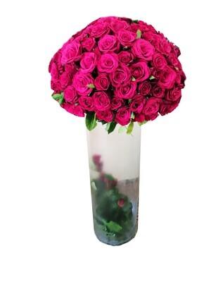 200 roses in Vase Lebanon