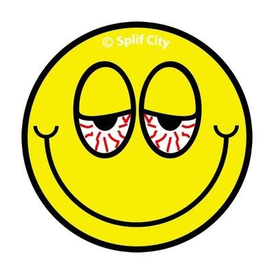 SC Blurred Eyes Emoji coaster