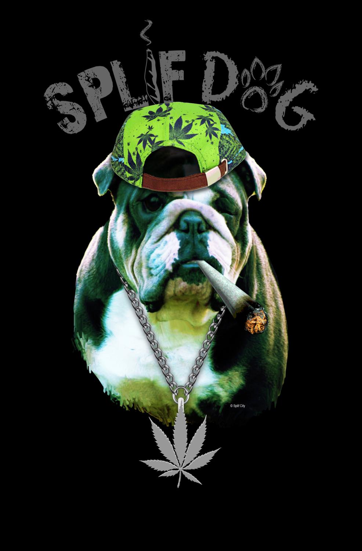 Splif Dog 11x17 poster