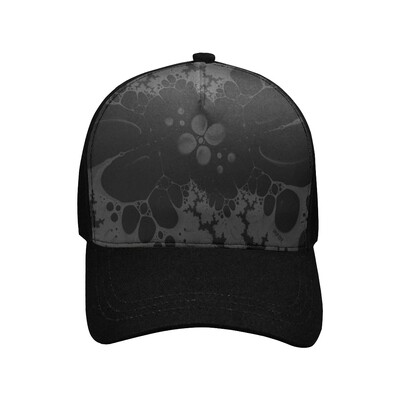 SC Abstraction black Printed Baseball Cap