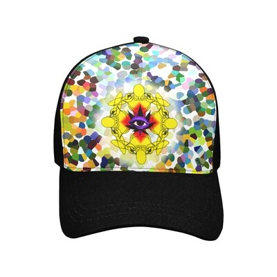 SC Higher Vision Printed Baseball Cap - black