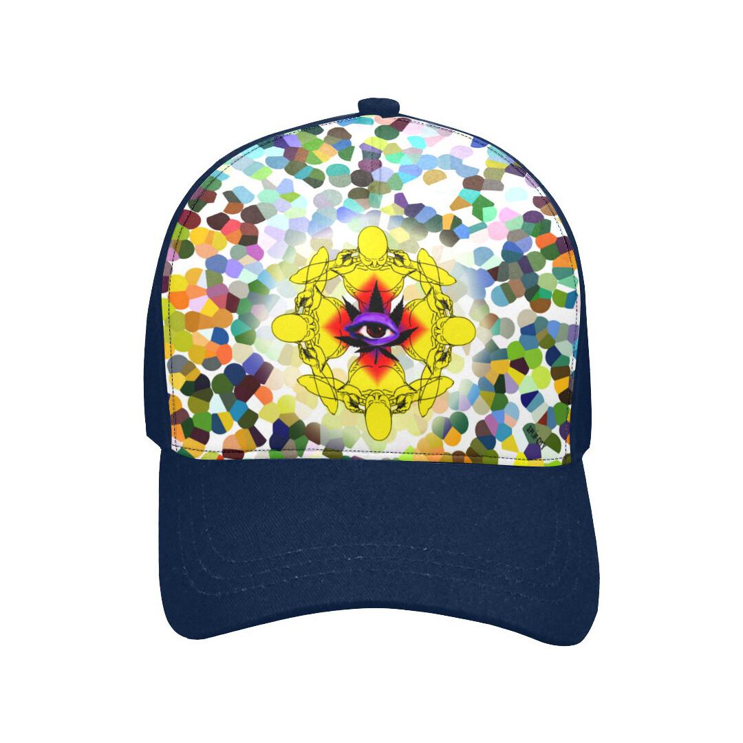 SC Higher Vision Printed Baseball Cap - blue
