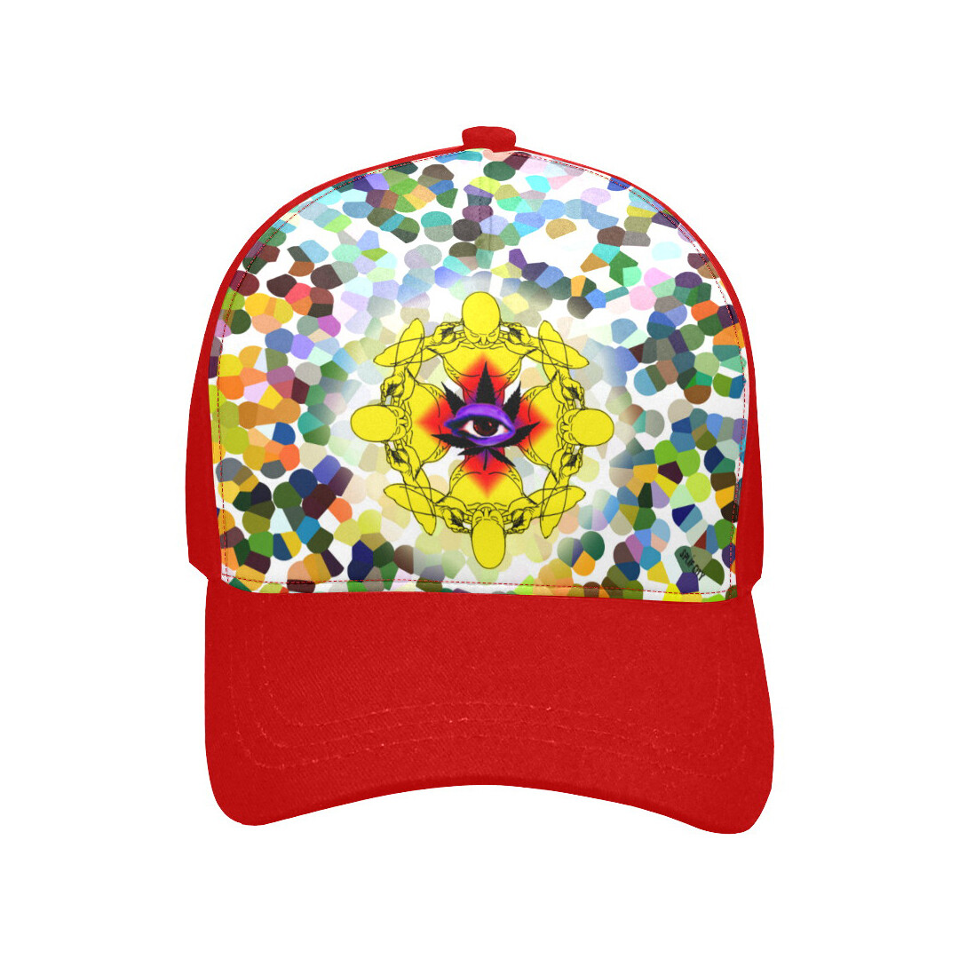 SC Higher Vision Printed Baseball Cap - red