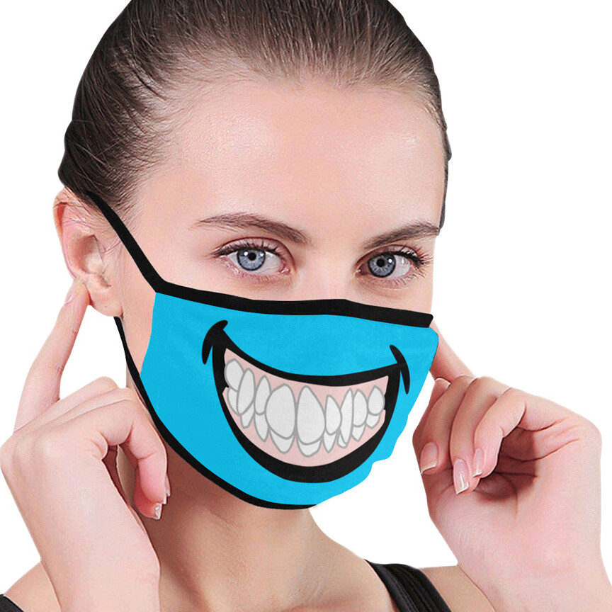 SC Grin Face - Protective Mask