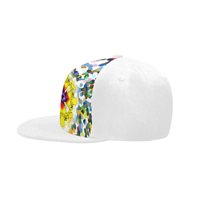 SC Higher Vision Printed Snapback Cap - White