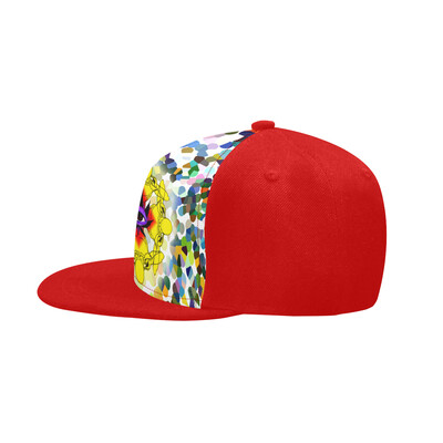 SC Higher Vision Printed Snapback Cap - Red