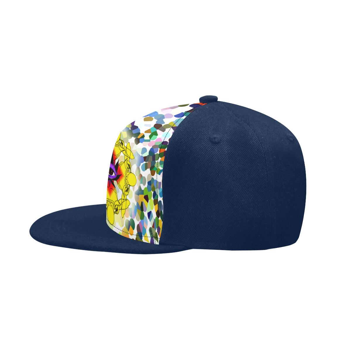 SC Higher Vision Printed Snapback Cap - Blue