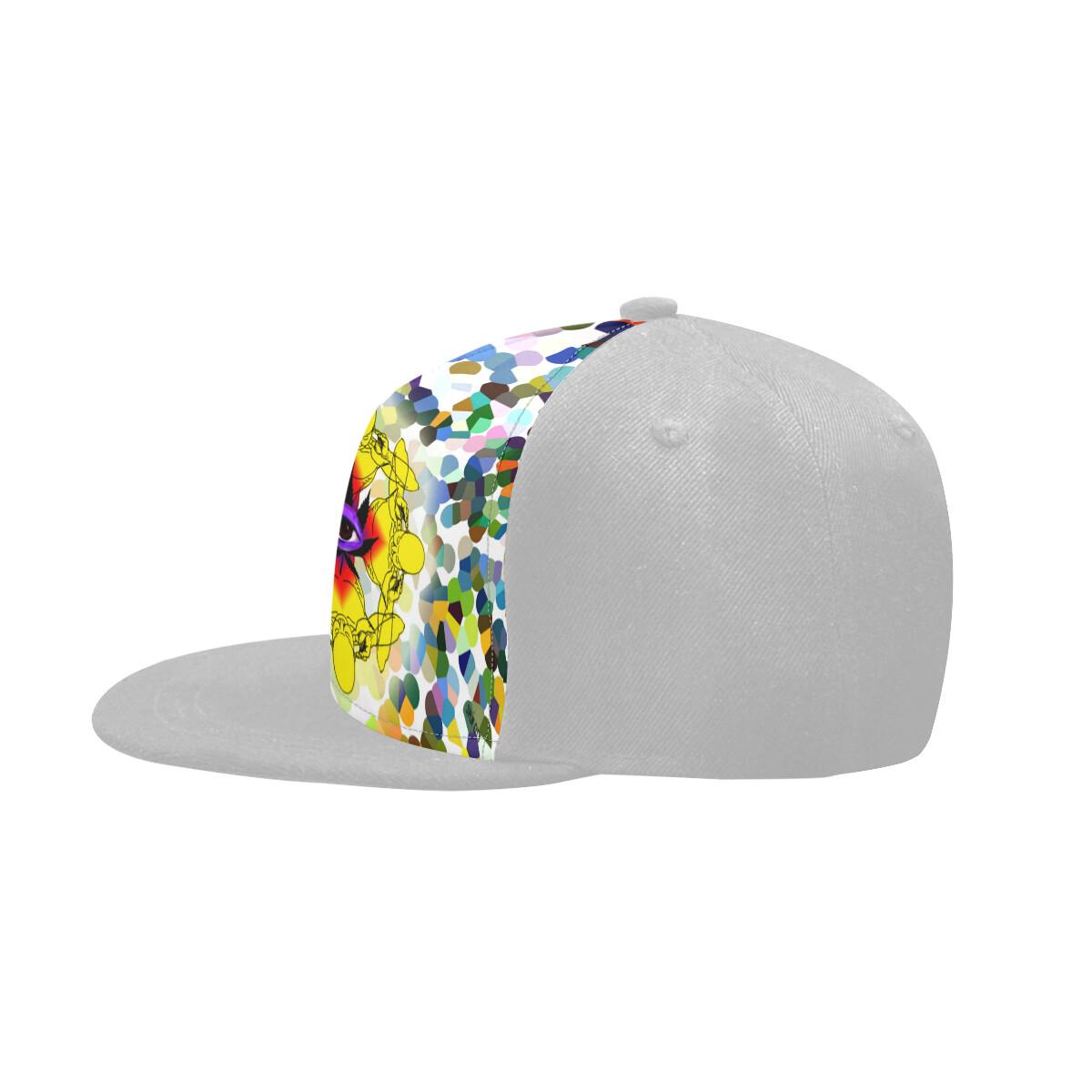 SC Higher Vision Printed Snapback Cap - Grey